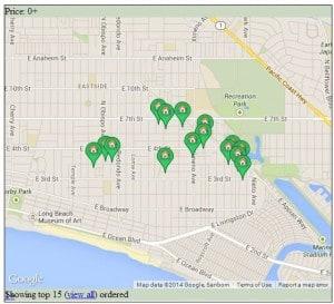 Belmont Heights Map - Long Beach California