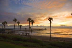 San Clemente Real Estate - San Clemente Homes Sunset Photo of Pier