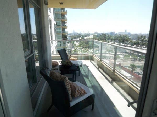 Balcony 400 West Ocean Blvd Long Beach CA