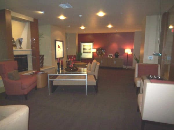 Clubhouse off the lobby for West Ocean Long Beach CA 90802