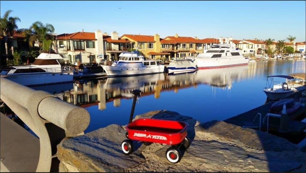 Homes with Boat Docks in Huntington Beach California