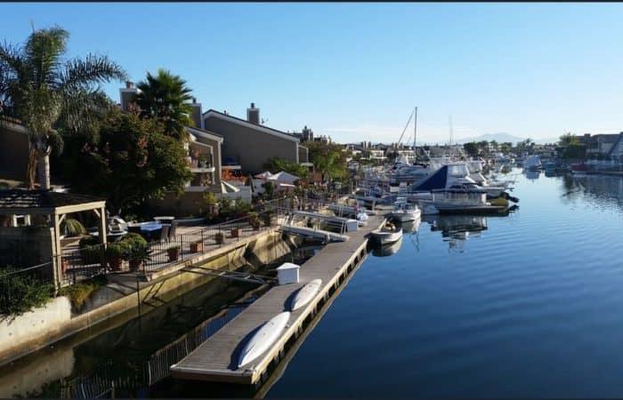 Seagate Townhomes with boat slips Huntington Harbor Huntington Beach CA