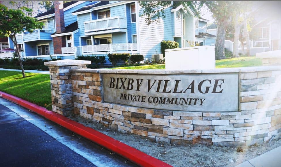 Bixby VIllage Townhomes in Long Beach CA
