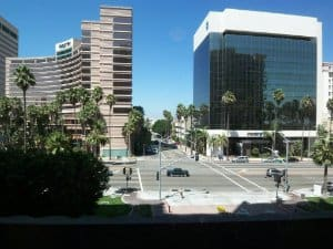 City Views from Aqua Long Beach CA 90802