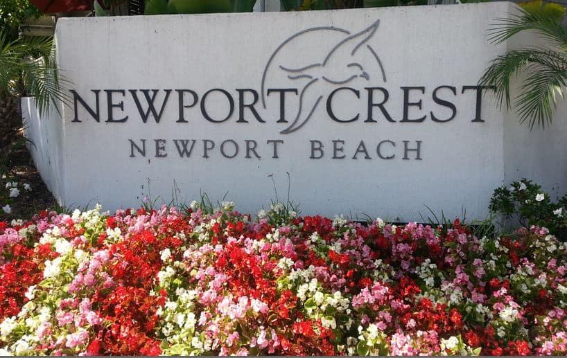 Newport Crest Condos in Newport Beach CA