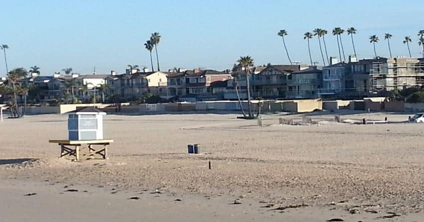 Seal Beach Picture of Ocean Blvd