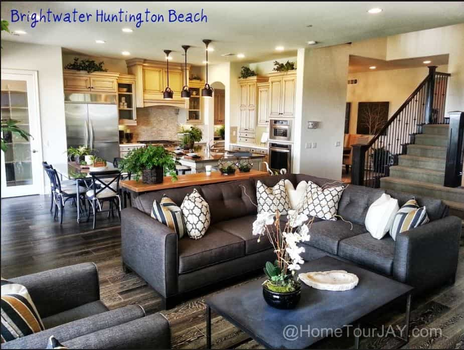 Brightwater Huntington Beach Kitchen and Family Room by Jay Valento