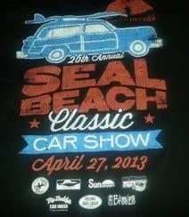 2013 Seal Beach Car Show T-Shirt