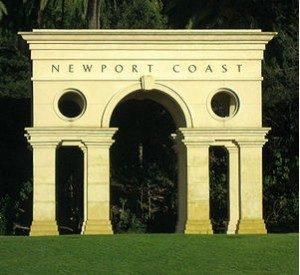 Newport Coast Real Estate Photo of NC Sign