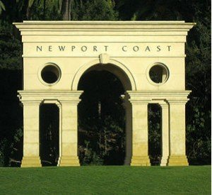 Newport Coast Real Estate Photo of NC Sign