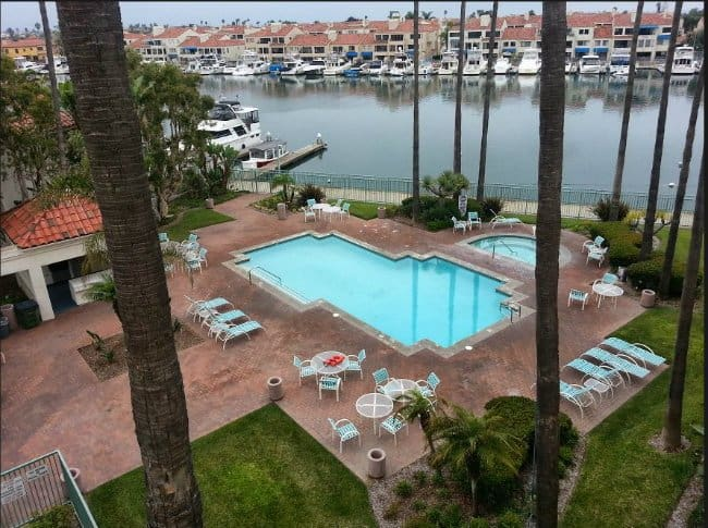 Portofino Cove Condos Pool in Huntington Beach