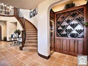 Wine Cellar or Wine Room in San Juan Capistrano Homes