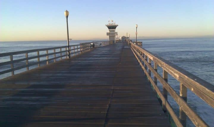 Seal Beach real estate and a view of the pier
