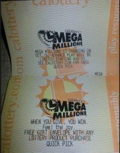 Mega Millions $425 Lottery Jackpot