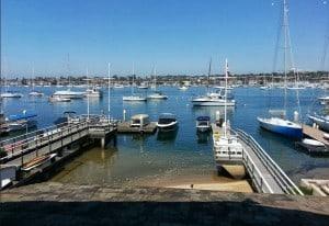 Newport Beach Ocean View of the Newport Harbor
