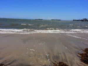 Belmont Shore Beach in Long Beach California