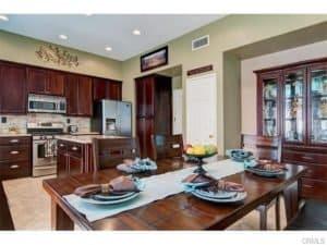 Kitchen of Rancho Santa Margarita Homes $630000 - $650000