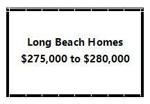 Long Beach homes 275000 to 280000 Price Range