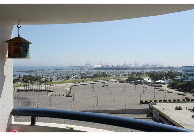 Ocean Views from the Balcony at 525 Seaside Way Long Beach