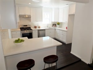 Kitchen View at 214 Whitnall Burbank