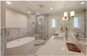 Master Bathroom at 253 Claremont Long Beach Ca 90803