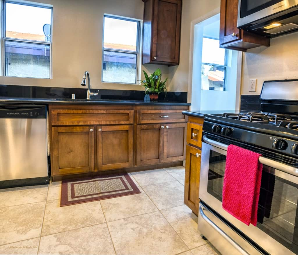 Kitchen at 109th PL LA Homes