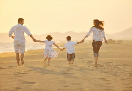 Young Family Enjoying Newport Coast Relocation Package