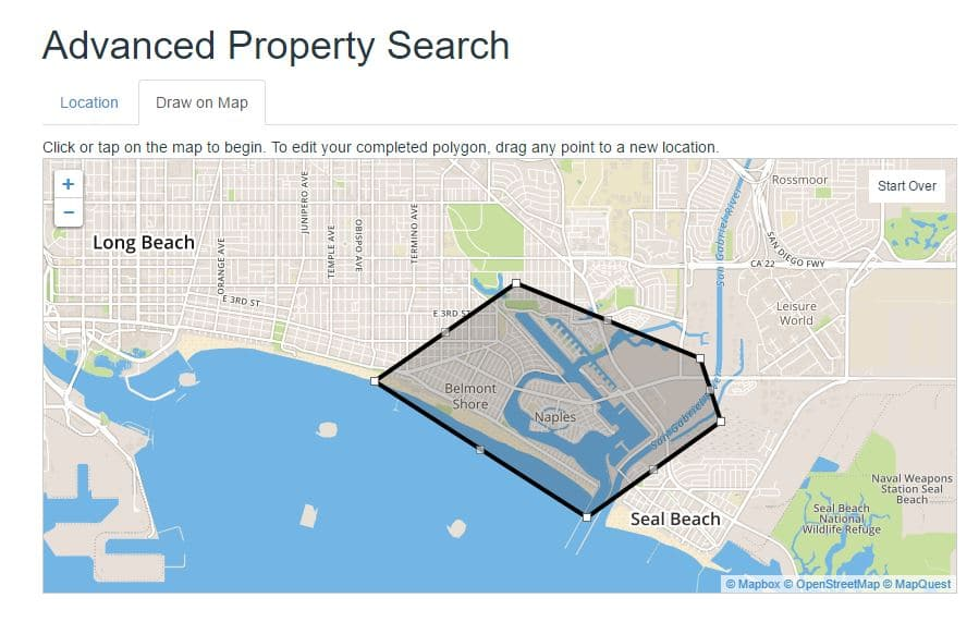 How to search southern california homes advanced tools for Advanced house search