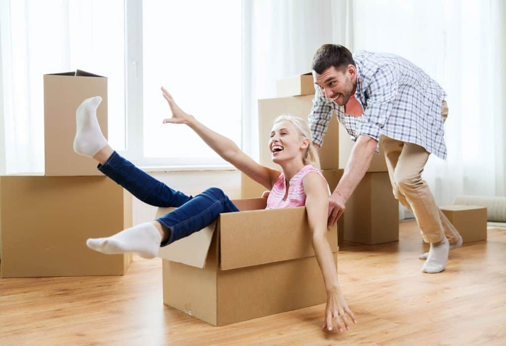 Whittier real estate - Having Fun moving into your new home