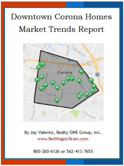 Downtown Corona Real Estate Statistics Report