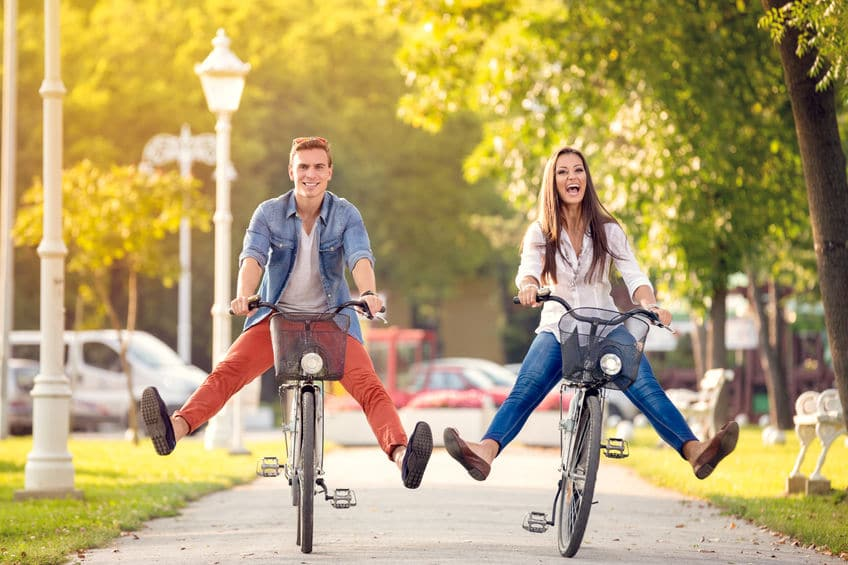 Having Fun Riding Bikes -Temecula Homes by Lifestyle