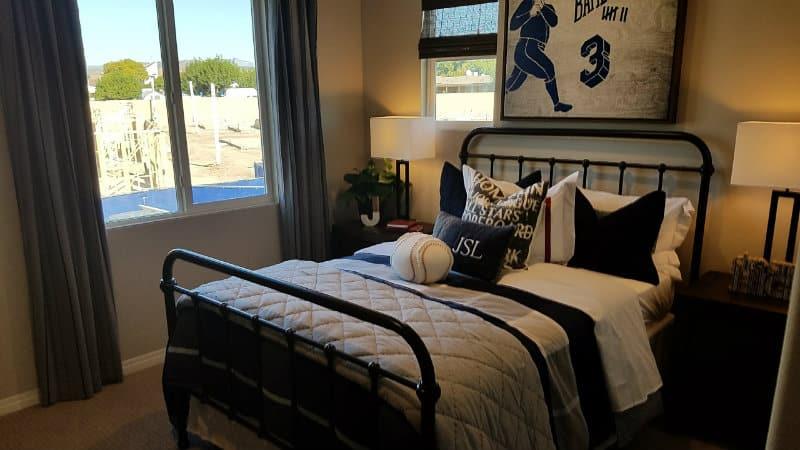 Bedroom at Olive Walk
