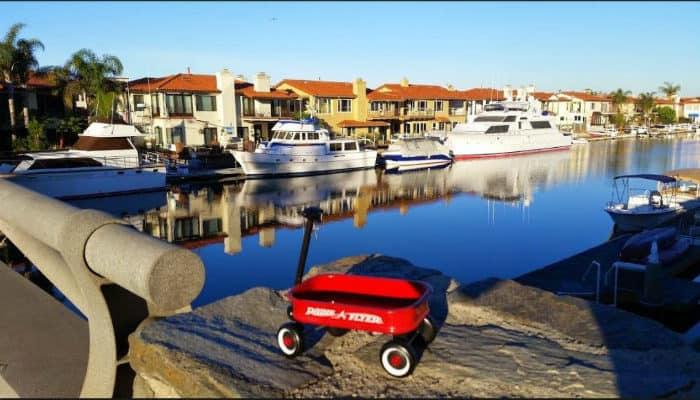 Huntington Beach Boat Dock Homes
