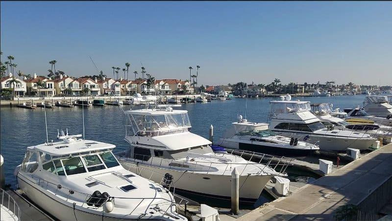 Huntington Beach Boat Dock Homes in the Marina - Jay Valento