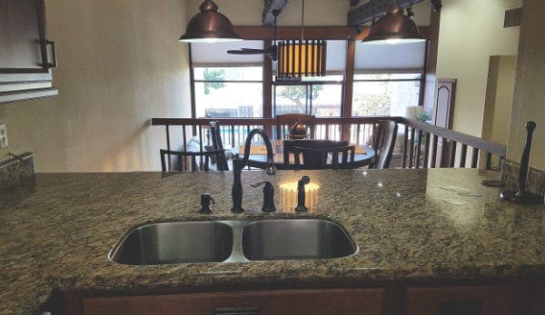 Kitchen Photo View at Marina Pacifica Condos