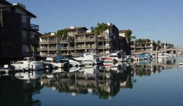 Marina Pacifica condos with boat slips