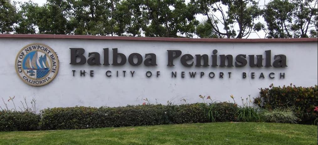 Balboa Peninsula Homes Neighborhood
