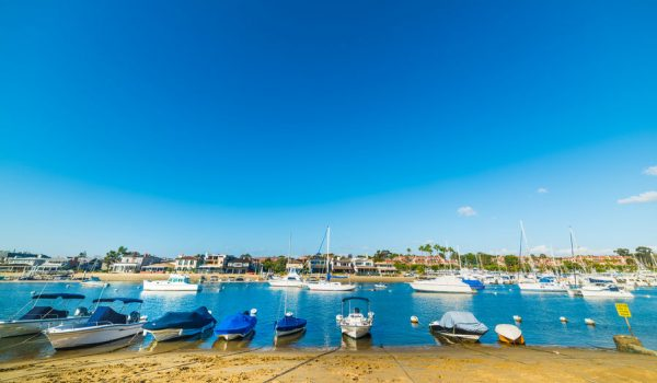 Newport Beach Homes Boat Docks