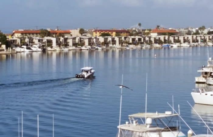 Views of Huntington Harbour from Portofino Cove