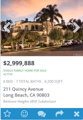 Southern California Property Search for Long Beach Homes