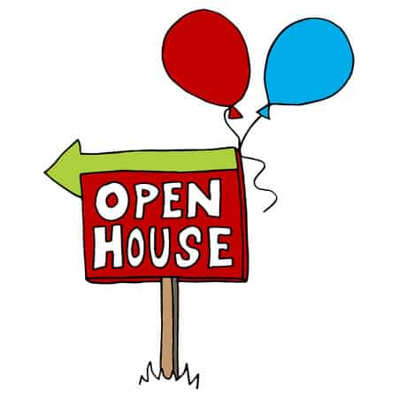 Beach Open Houses
