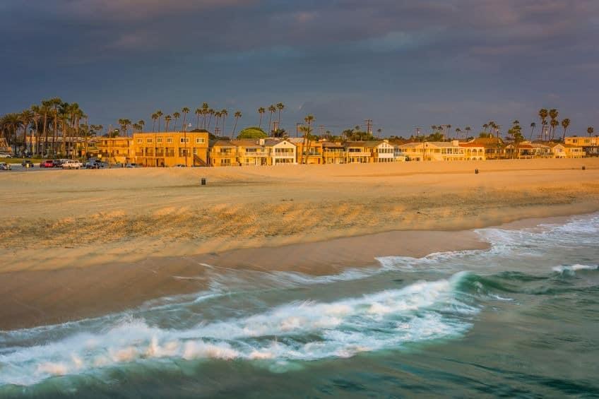 Cul-de-Sac Streets Seal Beach California