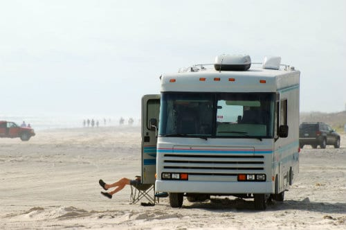 Long Beach Homes RV Parking Relaxing