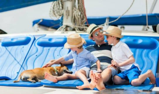 Spending Family Time Boating Huntington Beach Boat Dock Homes