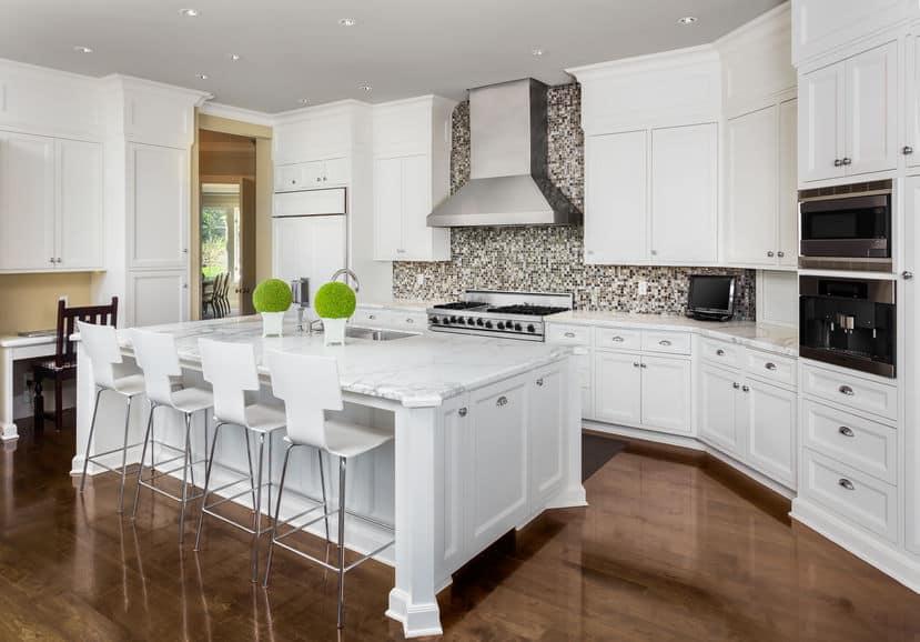 California Mansions $5 million to $8 million Kitchens