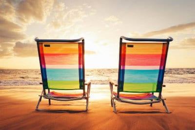Seal Beach Christmas Parade 2018 Beach Chairs