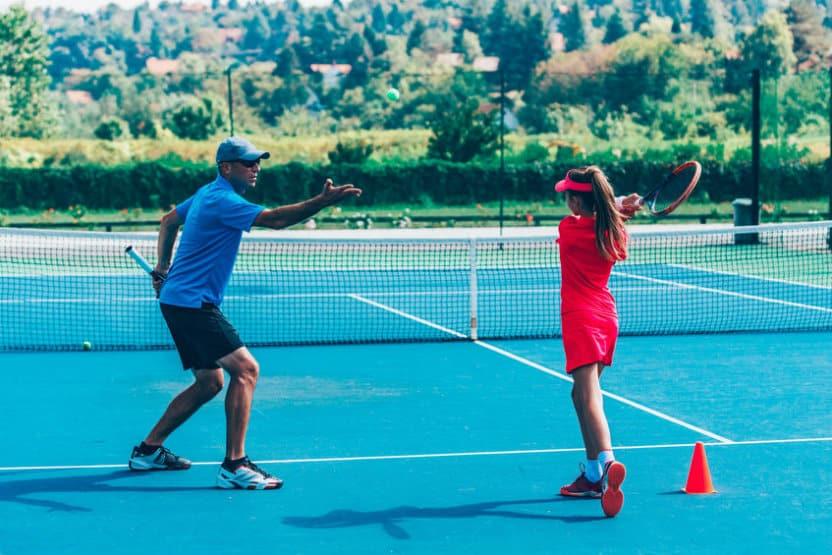 Coto de caza tennis courts
