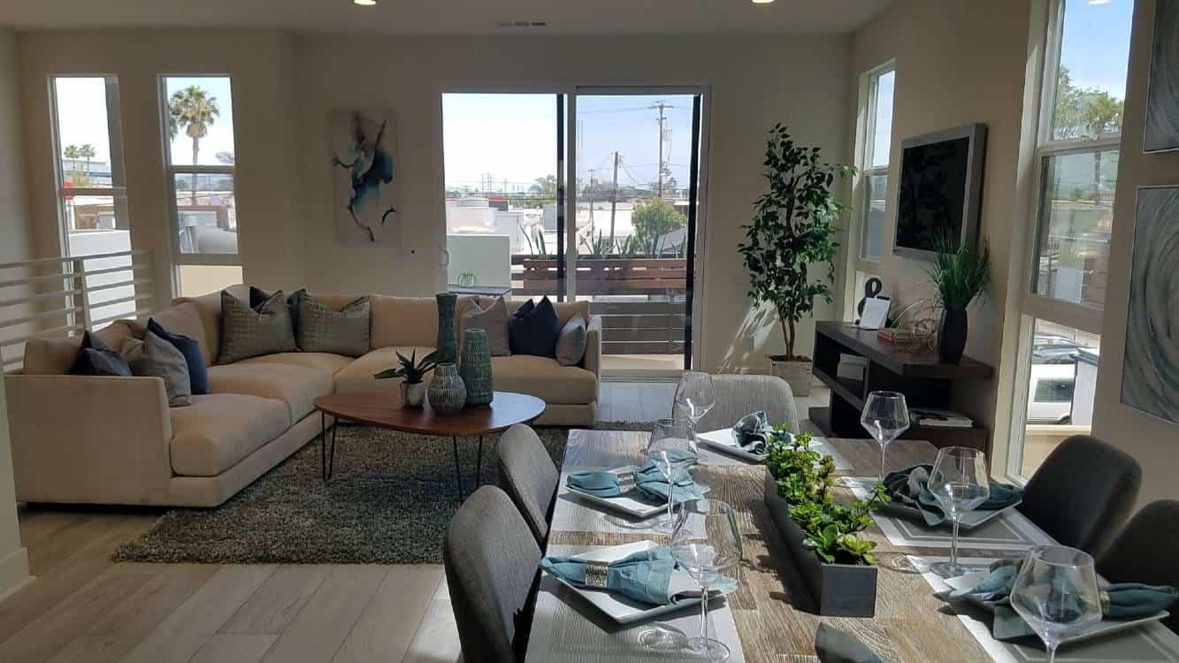 Open Floor Plan Long Beach CA
