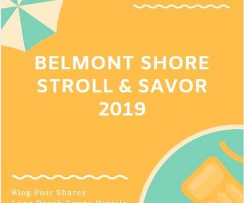 Belmont Shore Stroll Savor 2019