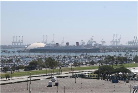 Queen Mary Long Beach California 2019